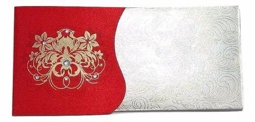Parvenu Shagun India Designer Tree Fancy Envelopes Cash Cover.Pack of 50 Pieces.