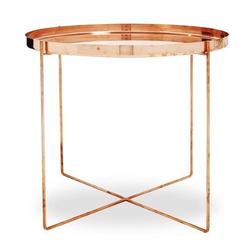 Side Table India.Copper Side Table