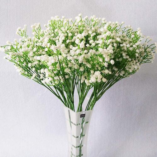 10pcs Baby Breath Gypsophila Artificial Fake Silk Plants At Rs 650 Set Kandivali East Mumbai Id 20147287030