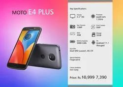 4G Android MOTO E4 PLUS, Memory Size: 32GB, Screen Size: 5.5 Inches