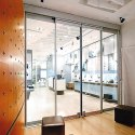 6 To 7 Feet Automatic Glass Sliding Door, For Office