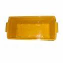 Yellow Plastic Planter Tray