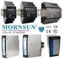 Smps Mornsun Din Rail Switch Mode Power Supply, 93% At 230vac, Input Voltage Range: 85 - 264vac & 120 - 370vdc