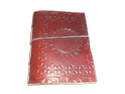 Sun Embossed Leather Bound Journal
