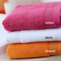 White Bath Towels, Weight: 250-350 Gsm, Size: 50 X 100 Cm