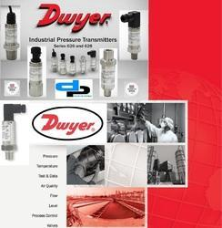 Dwyer 628-75-GH-P3-E4-S1 Pressure Transmitter 0-10 Bar