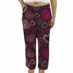 Ladies Rayon Printed Pajama
