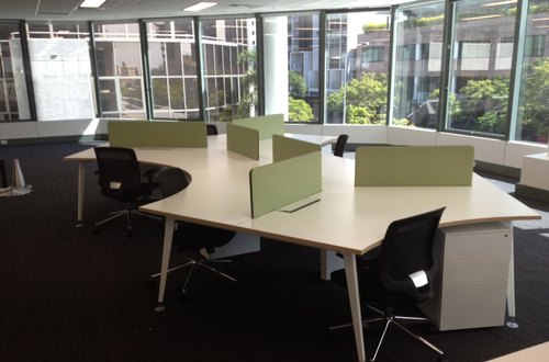 Icon Sleek Modular Workstation 120 Degree At Rs 24000 Set Modular Office Furniture Id 20836148548