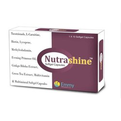 Nutrashine Multivitamin Softgel Capsule, 1x10 Capsules