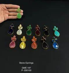 Ambrosial Stone Earrings