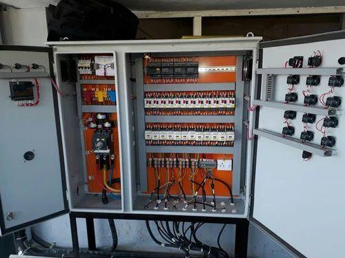 hvac panel automation air handling unit panel manufacturer from pune rh indiamart com Basic HVAC Control Wiring Reading HVAC Wiring Diagrams