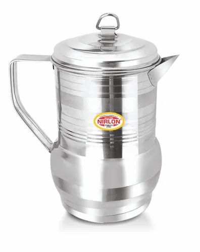 Nirlon Stainless Steel Tea/Oil Pot Kittley 1000mL