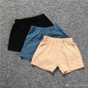 Casual Wear Kids Plain Cotton Shorts, Age: 1 To 6 Year