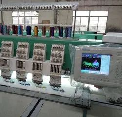 Multi Head Computer Embroidery Machine
