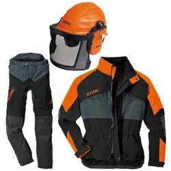 Large Unisex Cut-Resistant Safety Suit