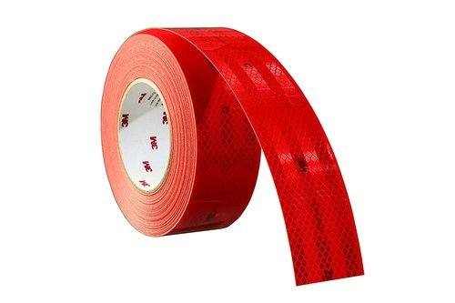 Films 3M 983-72 Red Consp Tape, Packaging Type: Roll