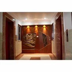 Home Interior Design, Work Provided: Wood Work & Furniture