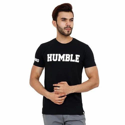 1ff309554 Unkultured Men Black Printed Half Sleeves T-Shirt