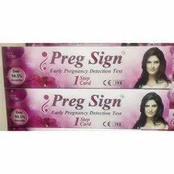 Preg Sign, Packaging Type: Box
