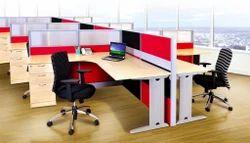 Modern PVC Office Workstation