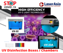 UV Sanitization/Disinfection Box with 11 W UVC Light and Auto Door ON/OFf