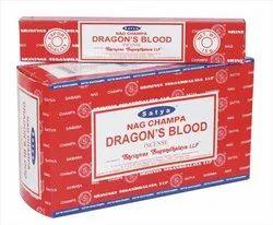 Satya Nag Champa Dragon Blood Incense Sticks