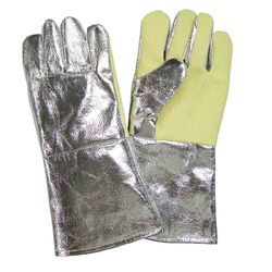Aluminised Hand Gloves