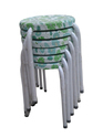 Stackable Stools - Green Flowers  (10 Pcs.)
