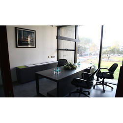 Black Stylish Modular Office Table Furniture