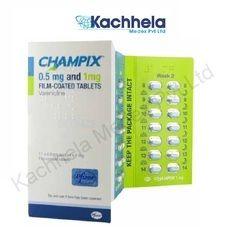 CHAMPIX 0.5 Mg Film-Coated Tablets