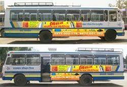 100 Gsm Vinayle Branding State Government Buses Advertising, 80 Sq Feet Vinayle, Mode Of Advertisement: Branding