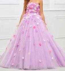 Classy Elegant Flower Girl Gown