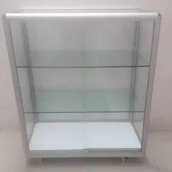 Keshav Enterprises Aluminium Glass Cabinet