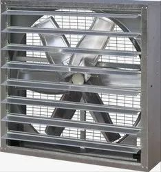 Three Phase 0.25 To 1.1 Kw Industrial Wall Mounted Exhaust Fan