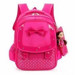 Printed Girls School Bag