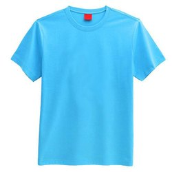 Mens Sky Blue Casual T-Shirt