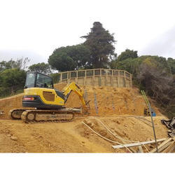 Friction Pile Soil Piling Service, Up To 25 Mt