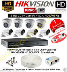 Hikvision 8 Cams Bundle