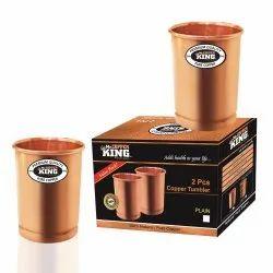 300 Ml Copper Tumbler Set