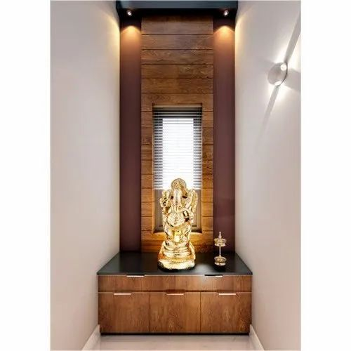 Temple Texas Traditional Home: Traditional 4X9 Feet Wooden Temple, For Home, Rs 15000