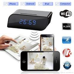 1080P Wifi Hidden Table Clock Camera
