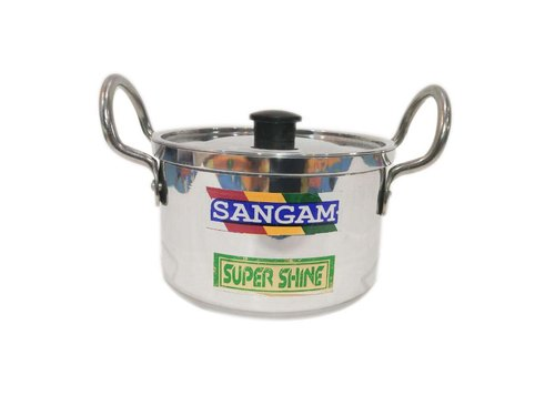 Sangam Silver Aluminium Casserole, Size: 2-7