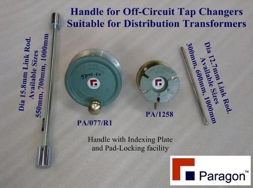 Paragon Three Phase And One Phase Tap Changer Handle With Index