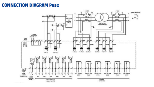 Transformer Differential Relay(ALSTOM GE), 24-230v Ac Dc ... on