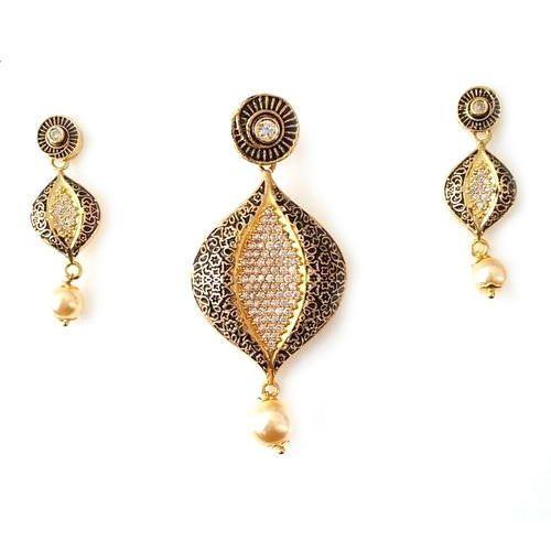 Fancy designer pendant set jhumke ka set rj creation surat id fancy designer pendant set mozeypictures Image collections