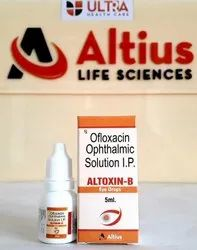 Allopathic Ofloxacin 0.3 w/v Benzalkonium Chloride Solution 0.02% v/v Drops for Hospital