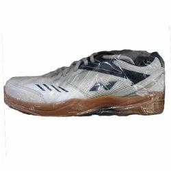 White Nivia Badminton Shoes