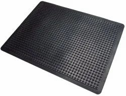 Anti Fatigue Rubber Mat (Ergonomic) Bubble Mat Semi Circle Mat 1.3 Ft X 2 Ft approx