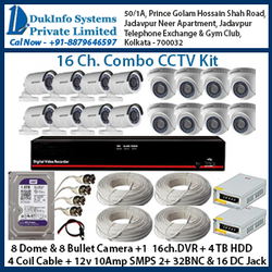 16ch. CCTV Combo Kits
