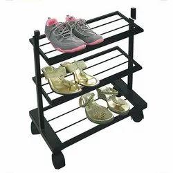 4 Wheel Shoe Racks SR2-3S